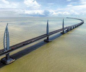 يحتوي على 420 ألف طن من الفولاذ.. الصين تستعد لافتتاح أطول جسر بحري في العالم