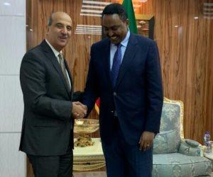 أسامة عبد الخالق.. قائد مهمة توطيد العلاقات المصرية الإثيوبية