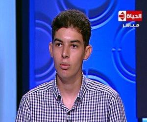 عمر عثمان.. حصل على الدكتوراه في الرياضة البحتة بباريس ومازال طالبا في الإعدادية بمصر!