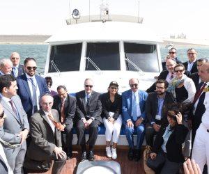 وفد أمريكي يتفقد أنفاق القناة الجديدة: هذا هو الوقت المناسب للاستثمار في مصر