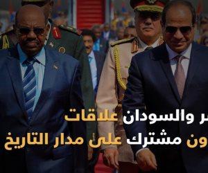 مصر والسودان.. علاقات وتعاون مشترك على مدار التاريخ (فيديوجراف)