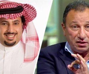 تركي آل الشيخ يوجه لرسالة للخطيب ومجلس إدارة الأهلي: «بلاش بطولات زائفة على حسابي»