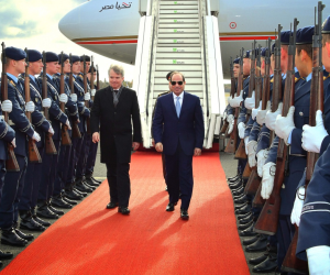 الرئيس في برلين.. تعرف على تفاصيل لقاءي السيسي برئيس مؤتمر ميونخ للسياسات الأمنية (صور)