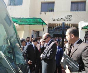 تفاصيل زيارة «حقوق إنسان النواب» لقسم شرطة بني سويف (صور)