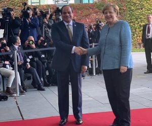 بشائر زيارة السيسي إلى ألمانيا.. المستشارة الألمانية تعلن دعم مصر بـ500 مليون يورو