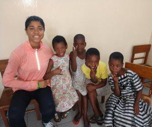 زوريل أودوول.. أمريكية تدافع عن حقوق تعليم الفتيات بإفريقيا تشارك في منتدى شباب العالم (صور)
