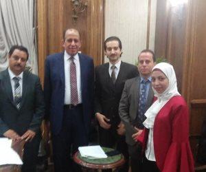 لأول مرة..رئيس نادى قضاة مصر يلتقى بشباب المحامين فى جلسة ودية للتباحث حول الشأن القضائى (صور)
