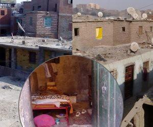 6 أشهر فصلت أهالي «فوزي عليوة» عن الموت.. انهيار قشرة صخرة بمنشأة ناصر تُثير الذُعر