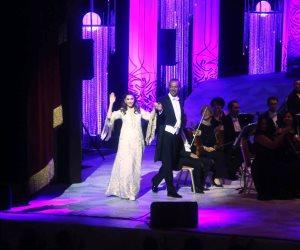 تعرف على رسائل ماجدة الرومى الـ9 فى ختام مهرجان الموسيقى العربية