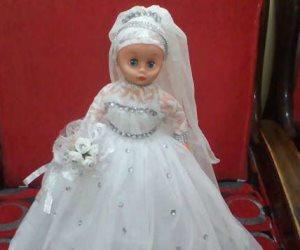 آخر صيحات موضة السلفييين في 2018: حجاب عروسة المولد (صور)