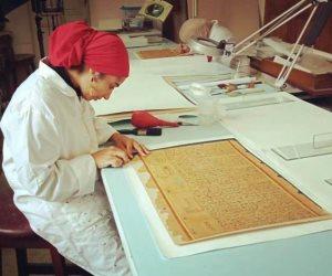 بعد تخزينها 113 عاما.. المتحف المصري يعرض بردية تضم 40 تعوذة من كتاب الموتى