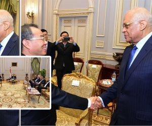 زيادة استثمارات الصين بمصر.. أبرز نقاشات قيادات البرلمان ورئيس لجنة شنغهاي بالمؤتمر الشعبي الصيني