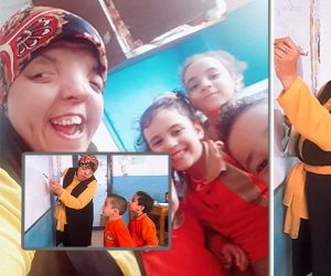 «فتاة أسوان» وحلم الطباشير.. متى تنتهي معاناة ذوي الاحتياجات الخاصة؟ (صور)