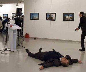 الدماء تلوث يد أردوغان.. المتهم بقتل السفير الروسي يورط ديكتاتور تركيا