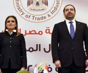 تبادل الخبرات والتعاون الاقتصادي.. ماذا دار في اجتماع سعد الحريري ووزيرة الاستثمار؟