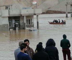 محافظات شمال العراق تغرق.. نزوح 7 آلاف عائلة وارتفاع أعداد الوفيات والمفقودين