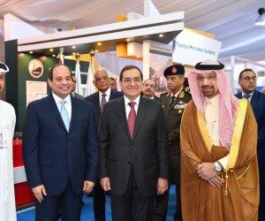 وزير الطاقة السعودي يوجه التحية والتقدير للرئيس السيسي عبر تويتر (صور)