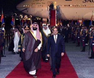 امتداد لتاريخ طويل من العلاقات.. ماذا قال وزير الإعلام السعودي عن زيارة محمد بن سلمان لمصر؟