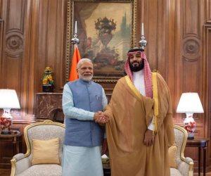 الأمير يلتقي رئيس وزراء الهند.. بن سلمان يستعرض التعاون الثنائي بين البلدين مع مودي