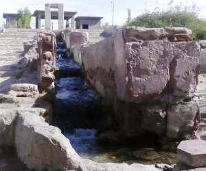 عين حلوان الكبريتية تبكي التلوث.. ثروات مصر القومية في أحضان الإهمال (صور)