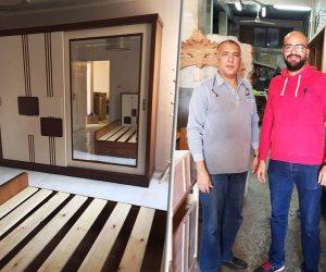 جهاز تنمية المشروعات يبني الأحلام.. هشام الشرقاوي يروي رحلة نجاحه في صناعة الأثاث بالغربية