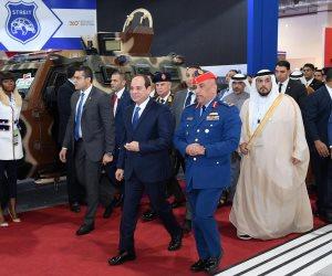 خلال افتتاح معرض «إيديكس 2018».. وزير الدفاع يوجه التحية للرئيس السيسي