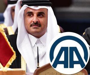 الجزيرة «أوف لاين».. الأناضول تنقل أخبار  أمير قطر وتحدد مشاركته في القمة الخليجية