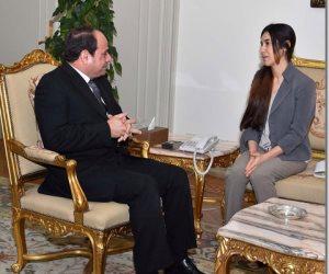 في ذكرى الانتصار على «داعش».. ماذا قالت نادية مراد الفتاة الإيزيدية عقب تسلمها جائزة نوبل للسلام؟