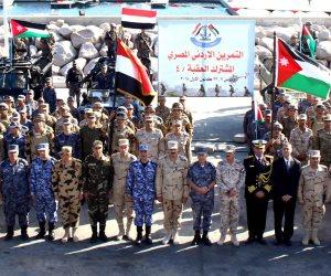 """القوات المسلحة تنفذ تدريب """"العقبة 4"""" بالتعاون مع الجيش الأردنى"""