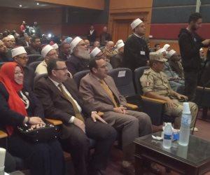 في ختام حملة محمد رسول الانسانية.. «شوشة» يوجة الأئمة بنشر الوسطية في سيناء (صور وفيديو)