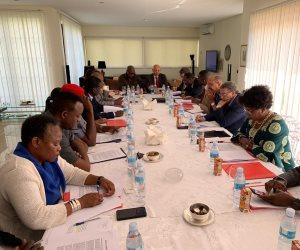 اجتماع للسفراء الأفارقة في السفارة المصرية بأنجولا تطرق إلى الاهتمام المصرى بقضايا القارة