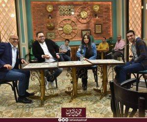 """أحمد رزق وسلوى خطاب يكشفان مواقف محرجة بسبب """"العشم"""" في """"قهوة أشرف"""""""