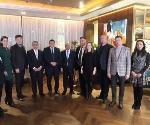 رئيس أول وفد برلماني مصري إلى أوكرانيا: علاقات البلدين تشهد تحسنا كبيرا