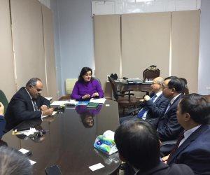 نائب وزير الزراعة: خطة لتفعيل اتفاقية التعاون المصرية الصينية ومبادرة الحزام الاقتصادي لطريق الحرير