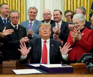 """فتش عن """"جدار ترامب"""".. تفاصيل فشل البيت الأبيض في اتفاق مع الكونجرس عن رفع سقف الموازنة"""