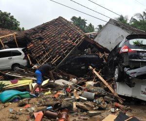 ما حدث في إندونيسا.. الوضع كارثي وضحايا تسونامي يزدادون