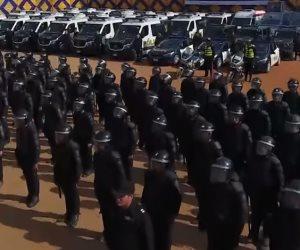 انتشار أمني مكثف على مستوى الجمهورية قبل احتفالات رأس السنة (فيديو)