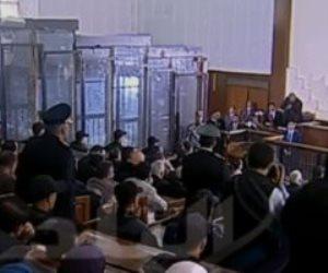 جلسة الاستماع إلى شهادة مبارك فى قضية اقتحام الحدود الشرقية (بث مباشر)
