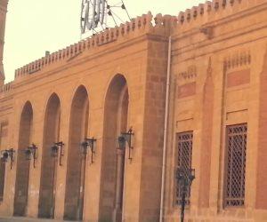 توقف الإنشاءات والترميم داخل مسجد إبراهيم الدسوقي.. والأهالي: من المسئول؟