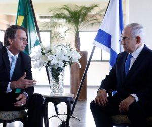 """""""ترامب البرازيل"""" يرتمي في أحضان إسرائيل.. تفاصيل لقاء مرتقب بين بولسونارو ونيتنياهو"""