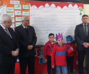 للتأكد من دعم نظام التعليم الجديد.. طارق شوقي يزور مدرسة الإمام الشافعي بالقاهرة