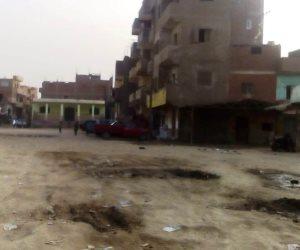 محافظة الجيزة تتجاهل معاناة أهالي قرى الصف.. الأراضي الزراعية تغرق في مياة الصرف (صور)