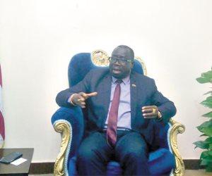سفير ليبريا بالقاهرة: مصر جزء من ثقافتنا الإفريقية وهذا موعد حضور الرئيس جوج وايا لمصر