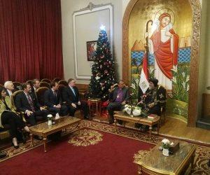 البابا تواضروس:الرئيس السيسي يسعى للحفاظ على النسيج المصري وإرساء مبادئ المواطنة
