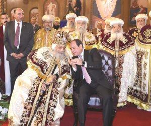 حصاد 2018.. أذان المساجد وأجراس الكنائس تصدح في سماء العاصمة الإدارية