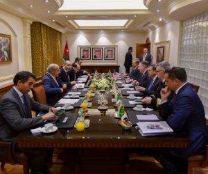 تشمل التأكيد على هزيمة داعش.. أهم محاور تصريحات وزير الخارجية الأمريكي من القاهرة (صور)