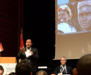 سفير مصر بروما يفتتح المركز الدولي لدراسة وصون وترميم الممتلكات الثقافية