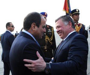رئاسة الجمهورية تنشر فيديو يوضح قوة العلاقات المصرية الأردنية