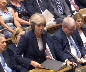 مجلس العموم البريطانى يرفض بأغلبية ساحقة اتفاق الخروج من الاتحاد الأوروبى