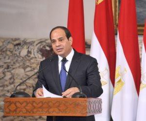 السيسى لقيادات بورسعيد: الدولة لن تسمح بأية تعديات على البحيرات